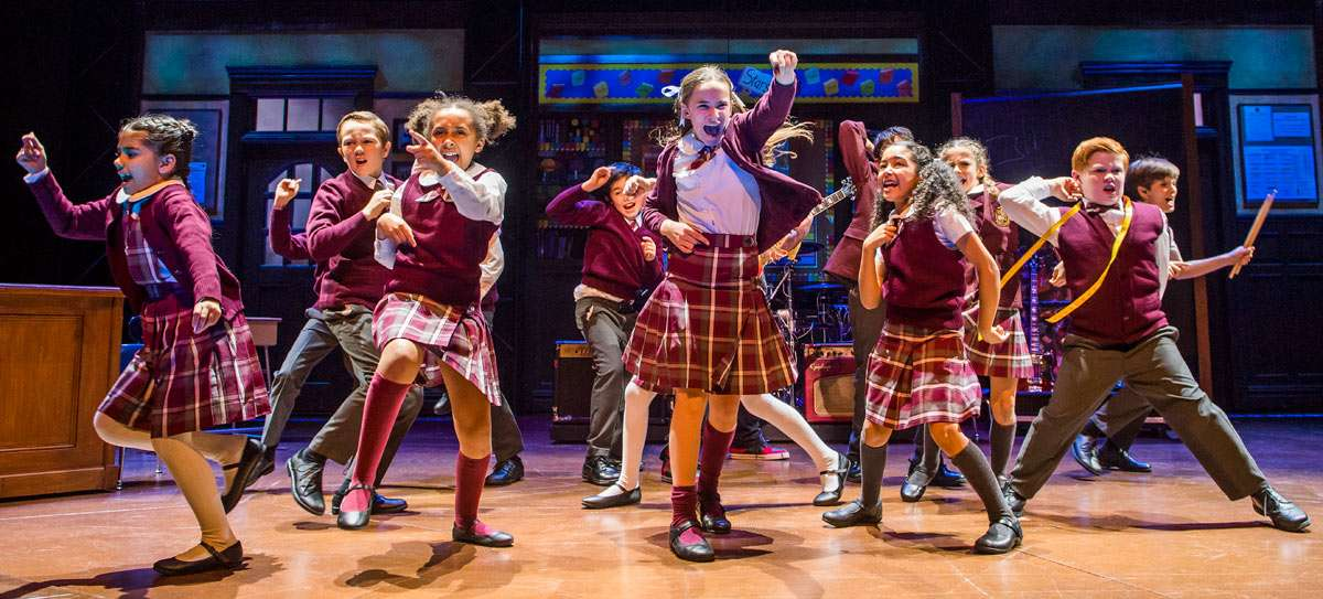 School Of Rock New London Theatre Review Arthurs Seat